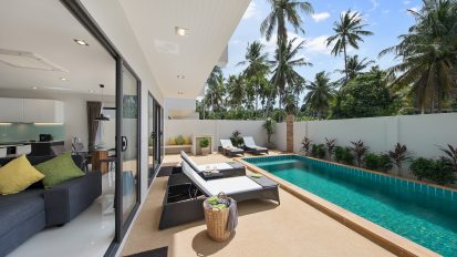 Villa Nabu - perfect private pool and terrace area