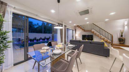 Villa Nabu - dining area