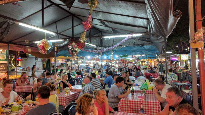 Chaweng food night market