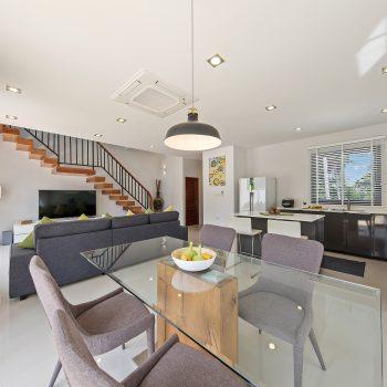 Villa Nabu - living, dining, cooking