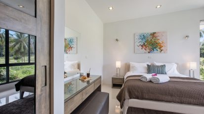 Villa Nabu - master bedroom