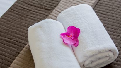 Villa Nabu - fluffy towels