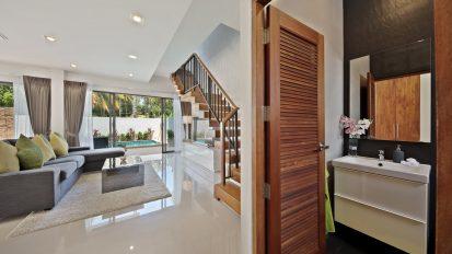 Villa Nabu - downstairs lounge