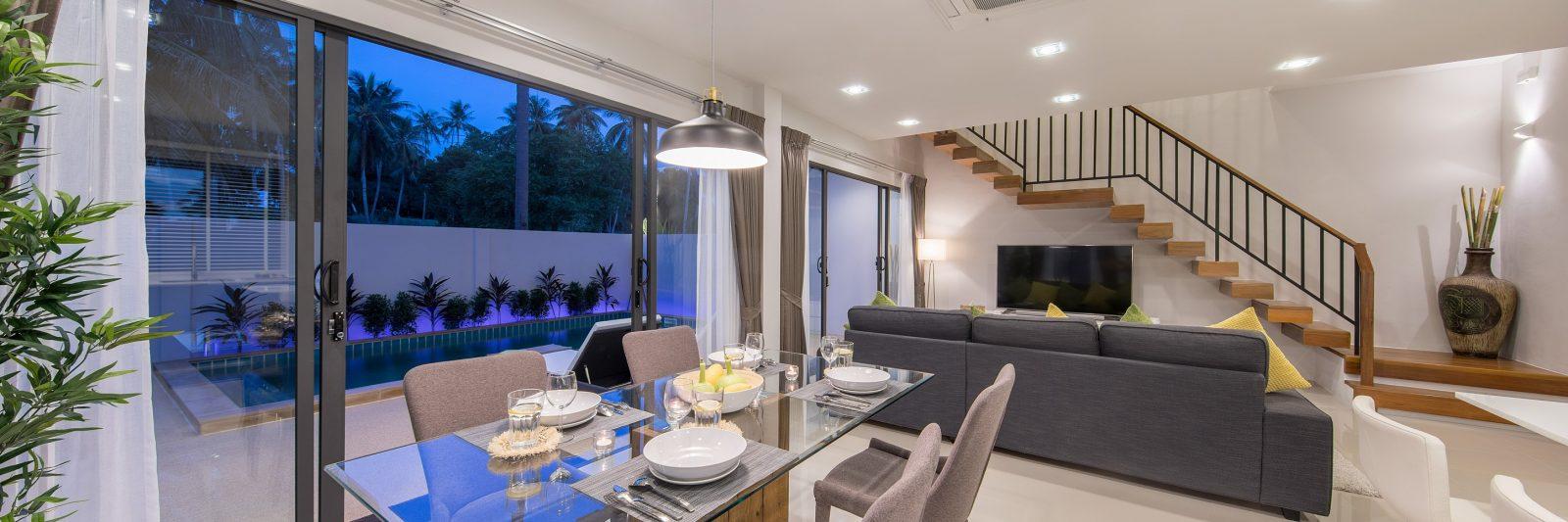 Plai Laem 3 bedroom luxury pool villas, Samui